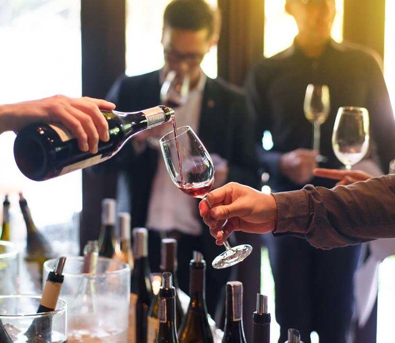 VIP experiences wine